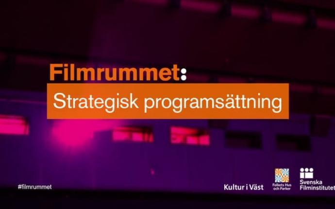 Filmrummet: Strategisk programsättning