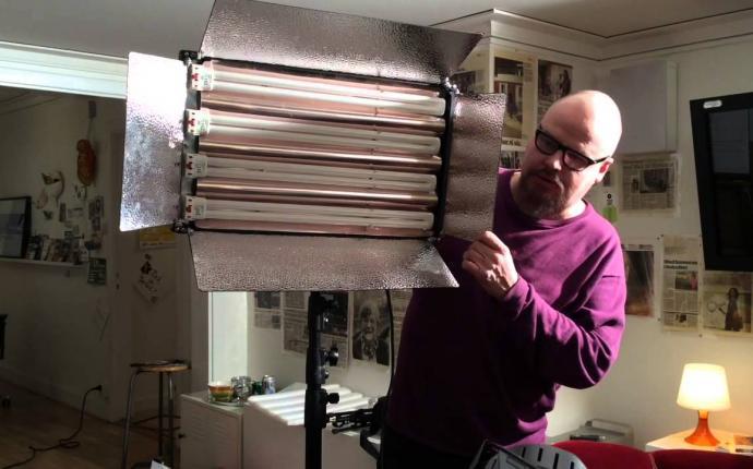 Patrik visar Reaktors filmteknik